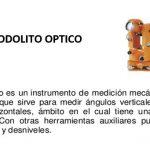 Teodolito Optico